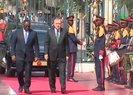 Son dakika: Başkan Erdoğan'a Senegal'de resmi karşılama töreni!  Macky Sall tarafından böyle karşılandı...