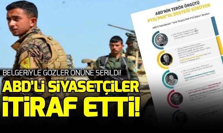ABD'Lİ SİYASETÇİLERDEN PYD-PKK İTİRAFI