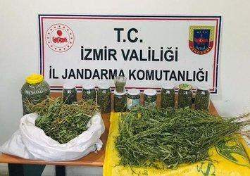 İzmir'de zehir tacirlerine operasyon: 63 gözaltı