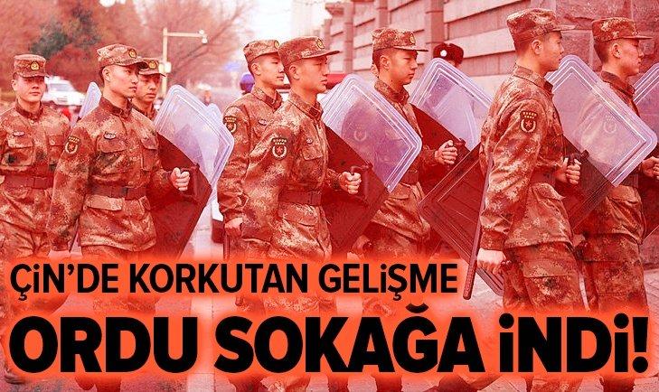 ORDU SOKAĞA İNDİ! ÇİN'DE KORKUTAN GELİŞME...