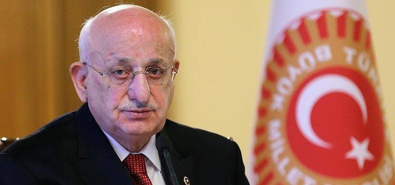 TBMM BAŞKANI KAHRAMAN'DAN 'NATO' MESAJI