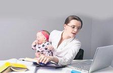 Çalışan anneye 10 güvence
