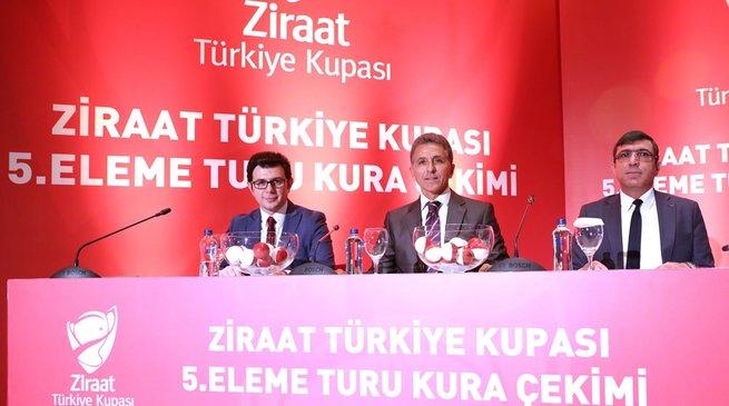 Ziraat Türkiye Kupası son 16 tur eşleşmeleri belli oldu