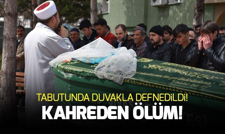 Sivas'ta kahreden ölüm! Tabutunda duvakla defnedildi