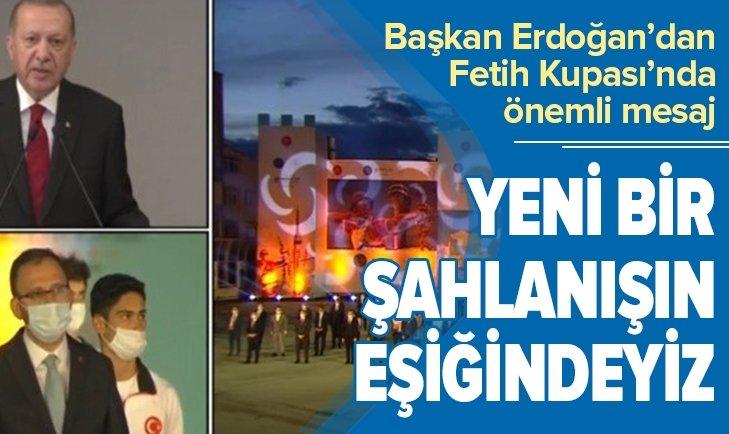 Başkan Erdoğan etkinliğe video konferansla katıldı