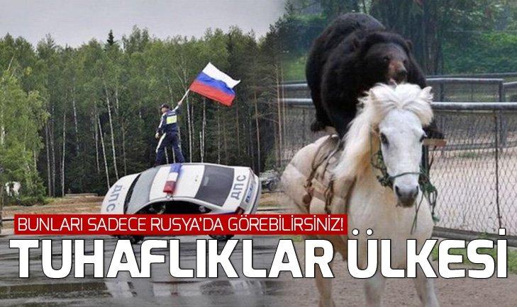 SADECE RUSYA'DA GÖREBİLECEĞİNİZ İLGİNÇ FOTOĞRAFLAR