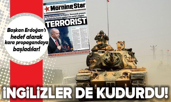 İngilizler de kudurdu! Başkan Erdoğan veTürkiye'yi hedef alarak kara propagandaya başladılar...