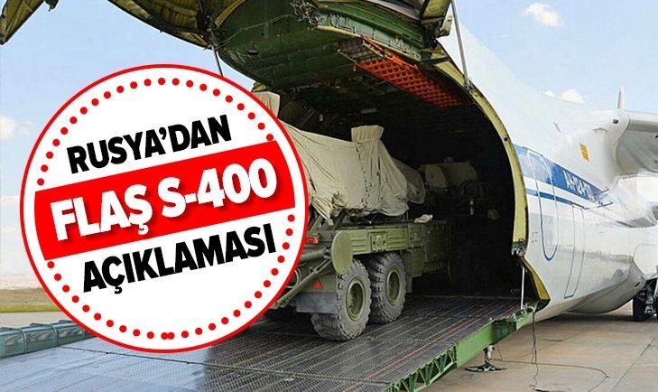 RUSYA'DAN FLAŞ S-400 AÇIKLAMASI