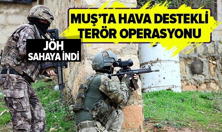 MUŞTA'TA HAVA DESTEKLİ TERÖR OPERASYONU