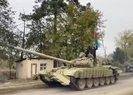 Son dakika: MSBden bu kareyle paylaştı! Azerbaycan Ordusu Ağdam'a girdi