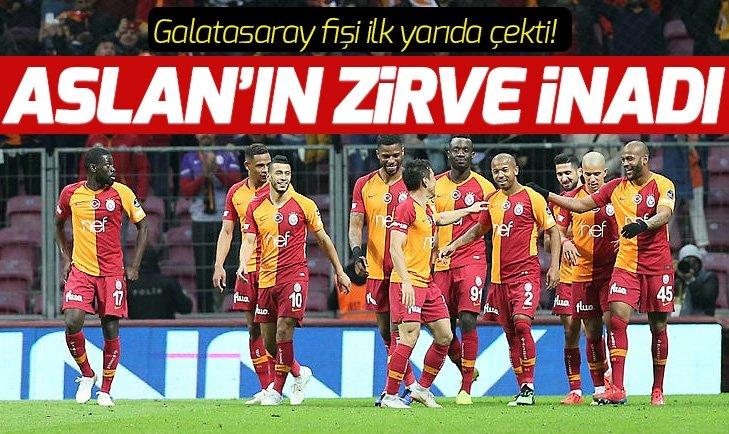 GALATASARAY'IN ZİRVE İNADI SÜRÜYOR!