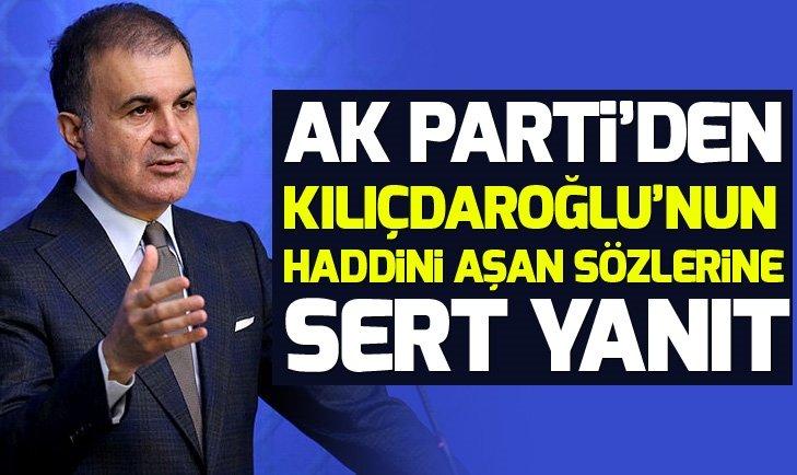 AK Parti'den Kılıçdaroğlu'nun haddini aşan sözlerine sert yanıt