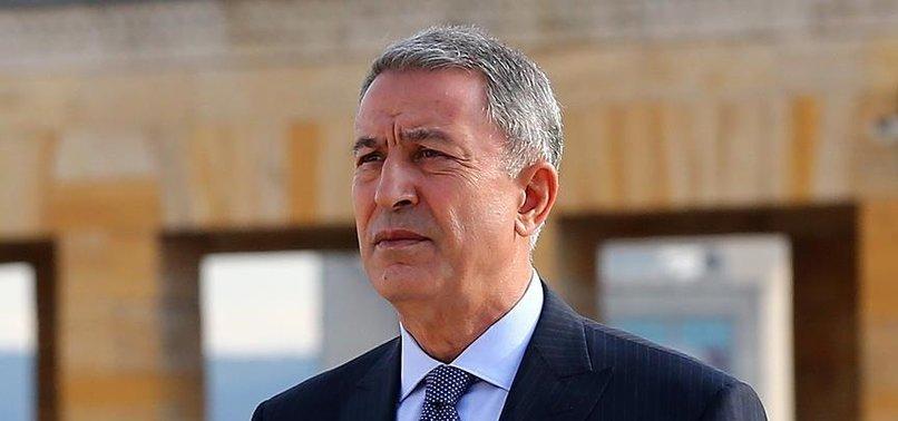 Son dakika: Milli savunma Bakanı Hulusi Akar'dan flaş Libya açıklaması: Hafter'e yardım bir an önce kesilmeli