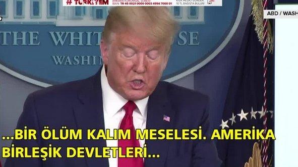 Trump: Böyle bir şeyle karşılaşmadık