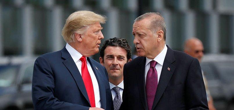 ERDOĞAN-TRUMP GÖRÜŞMESİNDE DİKKAT ÇEKEN DETAY!
