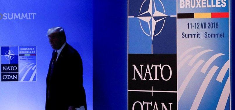 NATO ZİRVESİ'NDE ABD KRİZİ