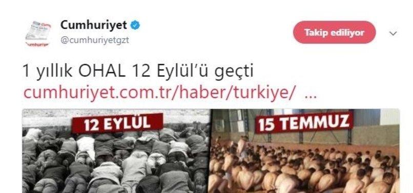 CUMHURİYET'TEN BİR SKANDAL DAHA