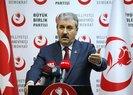 Mustafa Destici ve Önder Aksakal'dan HDP'li başkanların görevden alınmasıyla ilgili açıklama