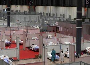 Dehşete düşüren görüntüler! Hastaneleri yetersiz kalan İran ve İspanya...