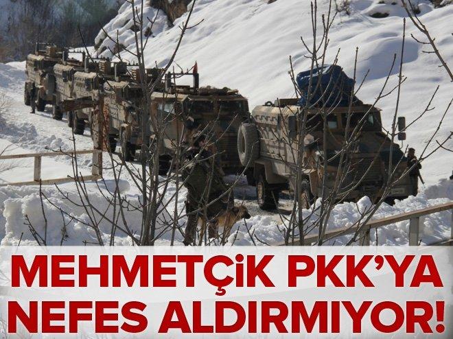 HAKKARİ'DE PKK'YA AİT MÜHİMMAT ELE GEÇİRİLDİ