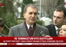 AK Parti Sözcüsü Ömer Çelik'ten 'HTS kayıtları' tepkisi |Video