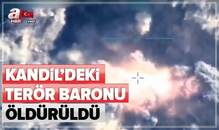 KANDİL'DEKİ TERÖR BARONU ÖLDÜRÜLDÜ