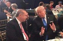 Erdoğan Trump ile bir araya geldi