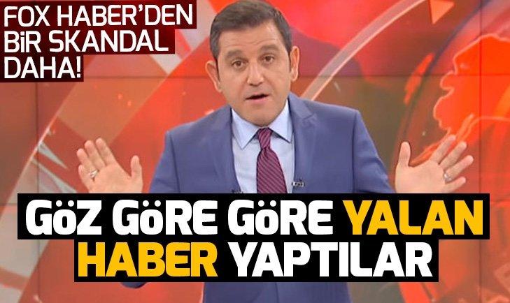 FOX HABER YİNE YALAN HABERLE GÜNDEMDE