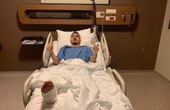 Trabzonspor'un yıldızı ameliyat oldu