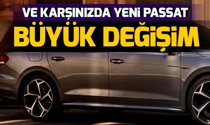 Yeni Volkswagen Passat'ın görselleri sızdırıldı! İşte yeni Passat'ın tasarımı…