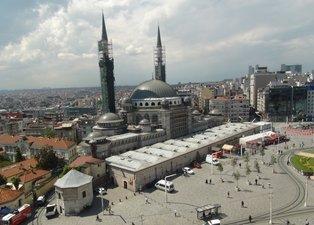 Taksim Camii'nin yüzde 90'ı bitti! Son hali böyle görüntülendi