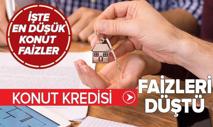 VAKIFBANK'TAN KONUT KREDİSİ HAMLESİ! FAİZ ORANLARINDA SERT DÜŞÜŞ...