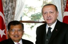 Cumhurbaşkanı Erdoğan Yusuf Kalla'yı kabul etti