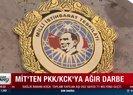 MİT'ten terör örgütü PKK'ya ağır darbe!