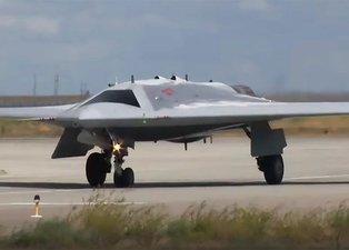 Rusya Savunma Bakanlığı paylaştı! İşte 'avcı drone'un yeni görüntüleri