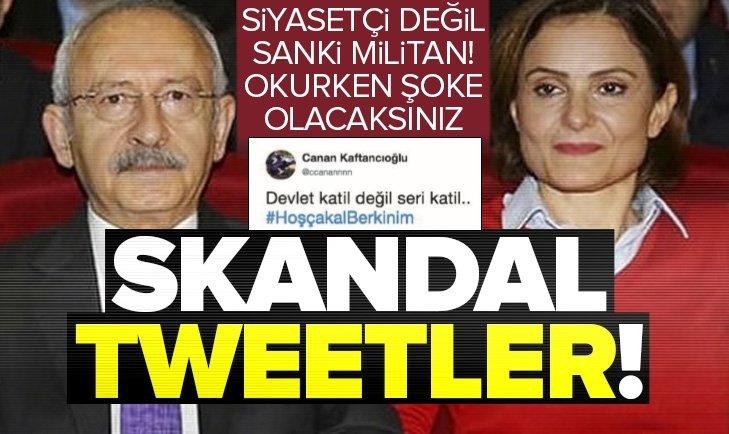 Canan Kaftancıoğlu'nun skandal tweetleri ortaya çıktı!