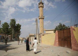 Tel Abyad'da terörsüz ilk Cuma namazı