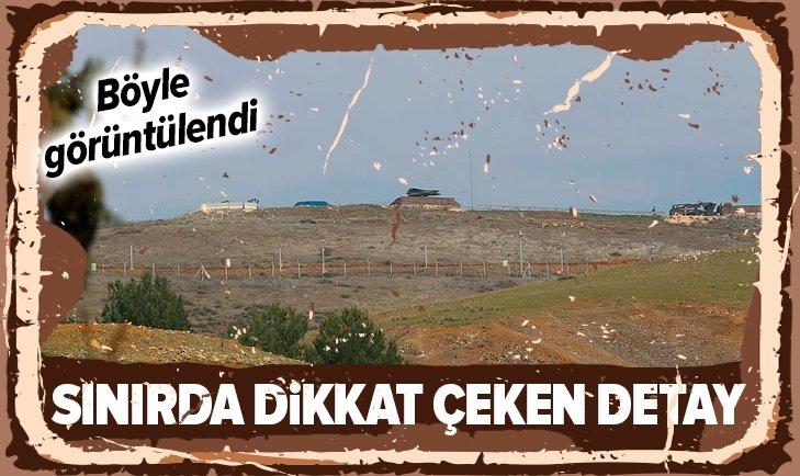 SINIRDA DİKKAT ÇEKEN DETAY!