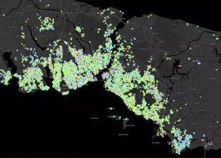 İşte İstanbul'un ilçe ilçe koronavirüs haritası! O ilçe kırmızıya boyandı