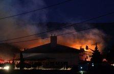Çanakkale Açık Ceza İnfaz Kurumunda yangın
