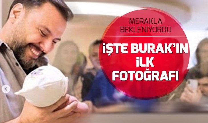 İŞTE ALİŞAN VE BUSE VAROL'UN OĞLU BURAK'IN İLK FOTOĞRAFLARI...