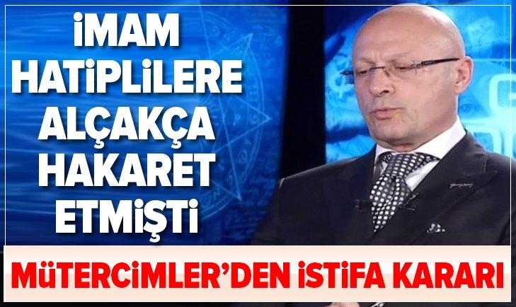 Son dakika: Erol Mütercimler istifa etti