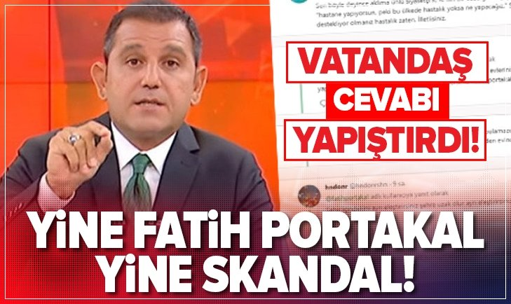 FATİH PORTAKAL'DAN BİR ŞEHİR HASTANESİ VAKASI DAHA!