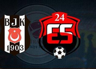 Abdullah Avcı'dan önemli karar! İşte Beşiktaş-Anagold 24 Erzincanspor maçı muhtemel 11'leri