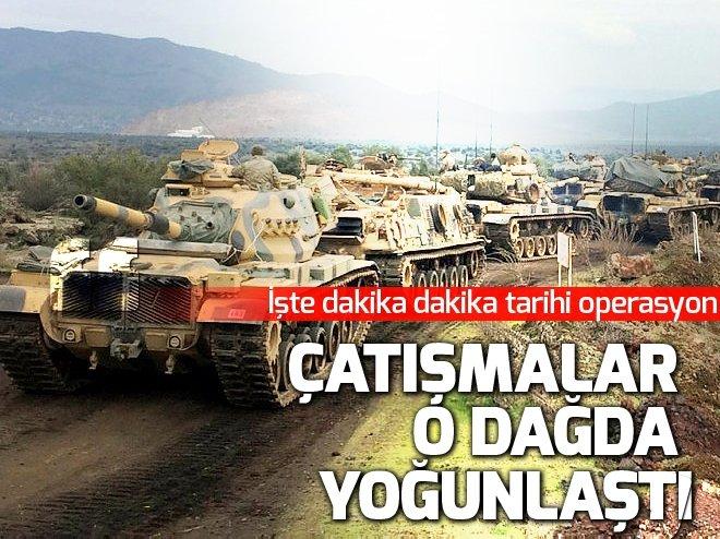 Afrin'e huzur koridoru açılıyor! İşte Zeytin Dalı operasyonunda dakika dakika yaşananlar...