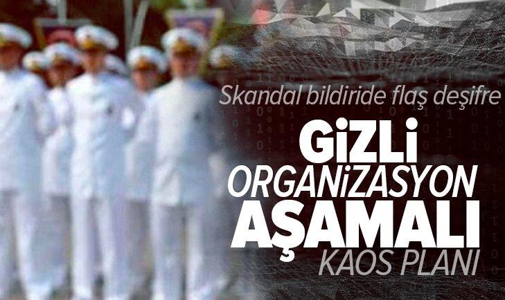 104 emekli amiral darbe imalı bildirisinde flaş deşifre! Kara ve havacılardan destek beklediler