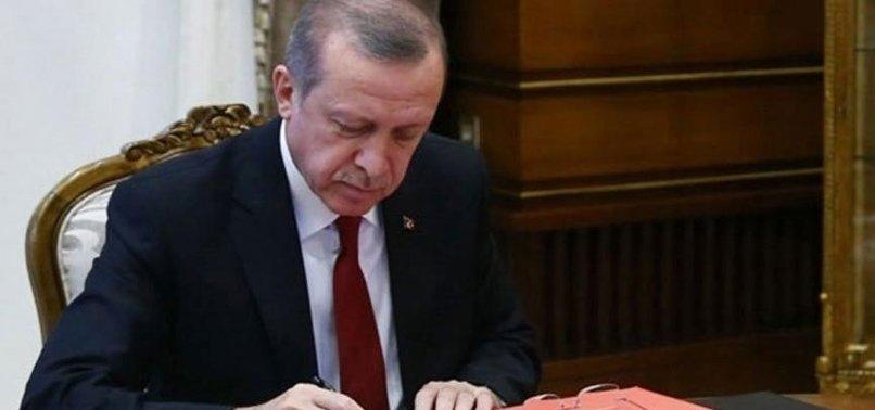 CUMHURBAŞKANI KARARLARI RESMİ GAZETE'DE