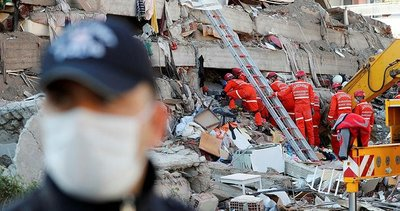 İzmir'deki deprem dünya basınında! Böyle gördüler...