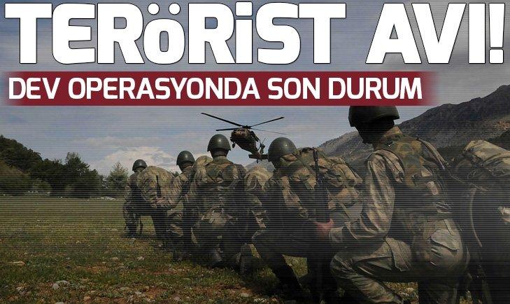 DİYARBAKIR'DA TERÖRİST AVI DEVAM EDİYOR