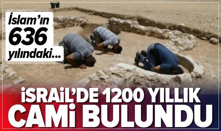 İSRAİL'DE 1200 YILLIK CAMİ BULUNDU
